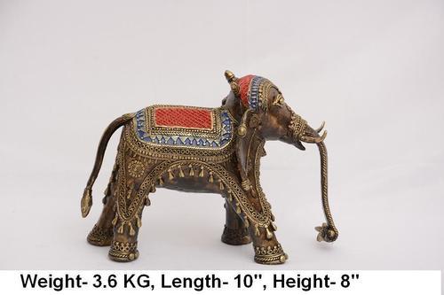 Brass Dhokra Elephant