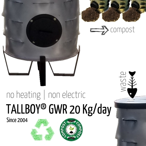 20 Kg Automatic Organic Waste Composter