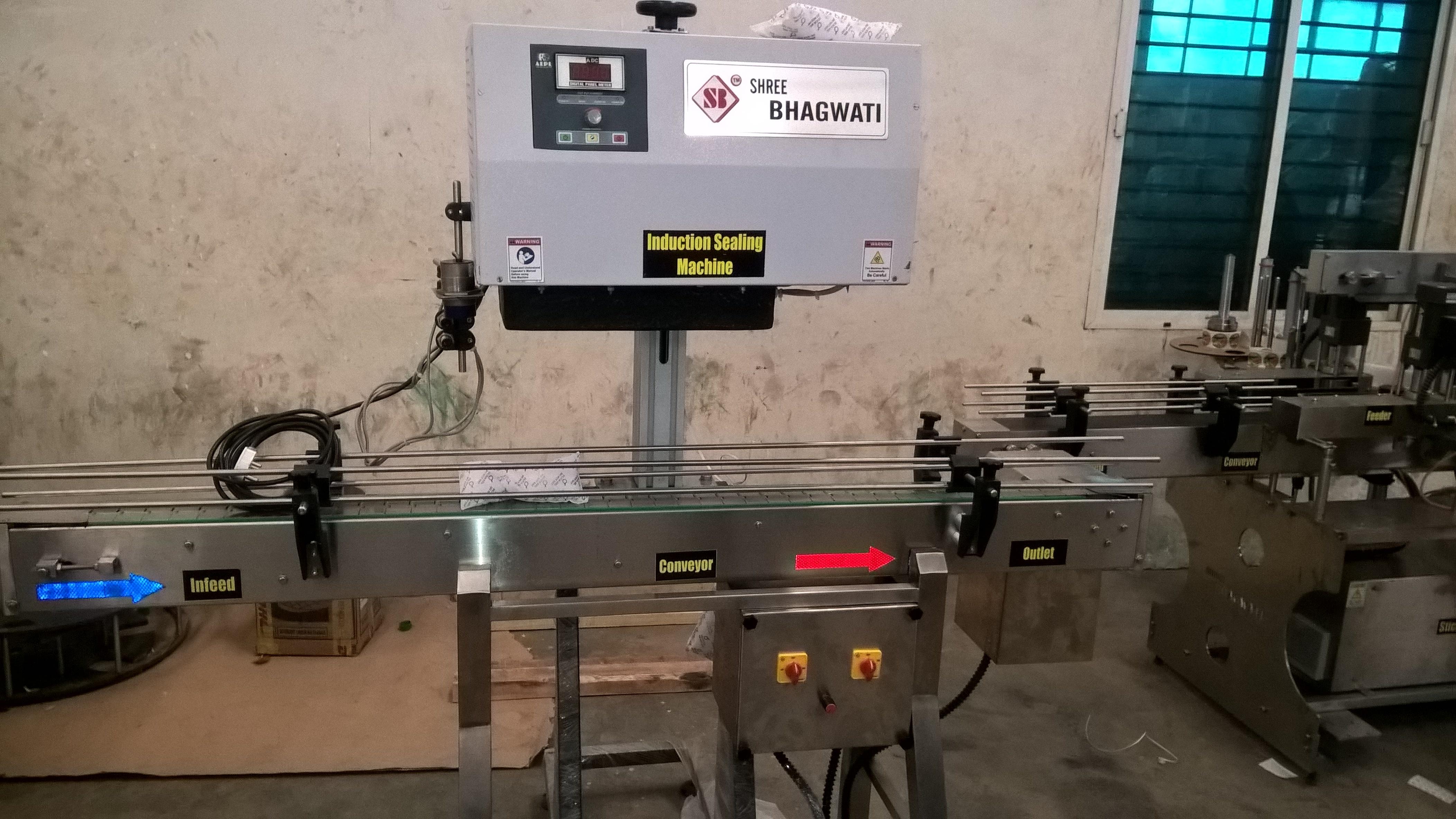 Induction Cap Sealer Machine