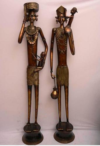 Brass Tribal Pair