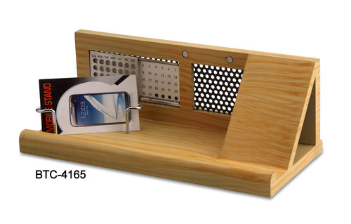 Wooden Calendar with Mobile Stand
