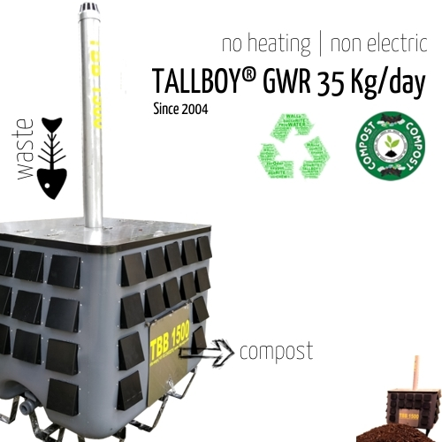 35 Kg Fully Automatic Compost Machine