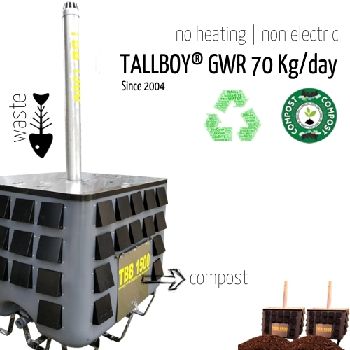 70 Kg Fully Automatic Organic Waste Composter