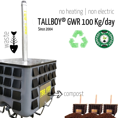 100 Kg Fully Automatic Compost Making Machine