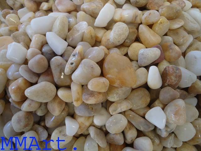 Natural river River Polished Pebble stone for gardening