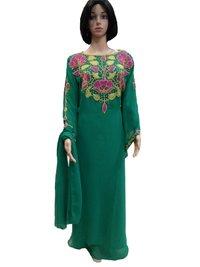 Buy Fancy Kaftansw Abaya Jalabiya Ladies Maxi Dress Wedding Gown