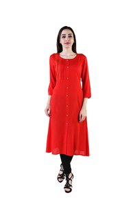 Designer Long Kurti For Women's