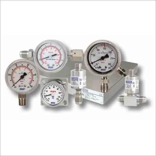 Wika Pressure Gauge Instruments