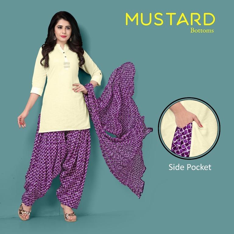 Traditional Pure Cotton Punjabi Suits