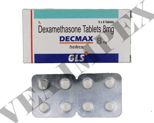 Decmax 8 mg(Dexamethasone Tablets)