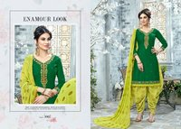 Designer Fancy Patiala Suits