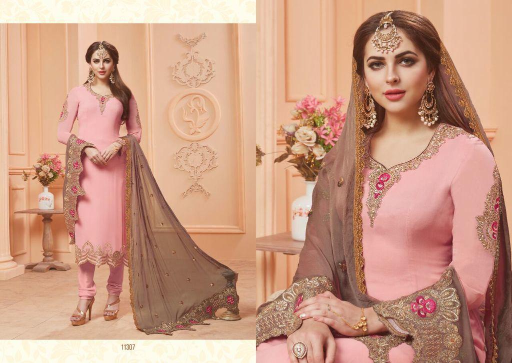 Latest Georgette Anarkali Salwar Suits