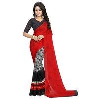 Silky Trendy Designer Saree