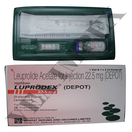 Luprodex (Depot Leuprolide Acetate Injection 22.5 mg)