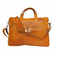 Leather File Bag