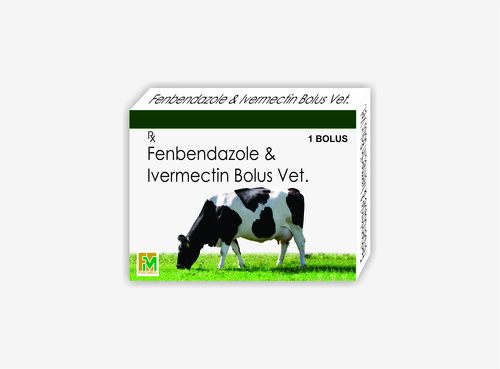 Veterinary Fenbendazole and Ivermectin Bolus