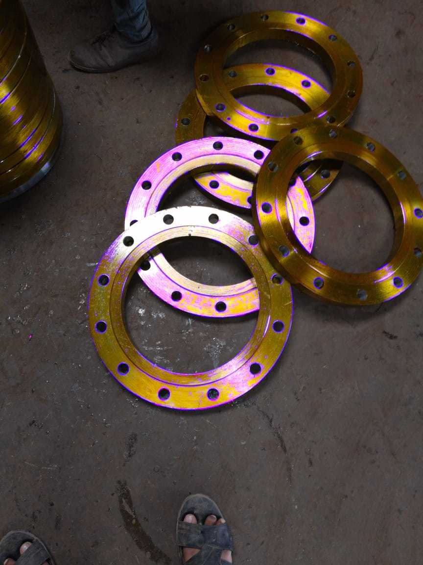 Industrial Mild Steel Flanges