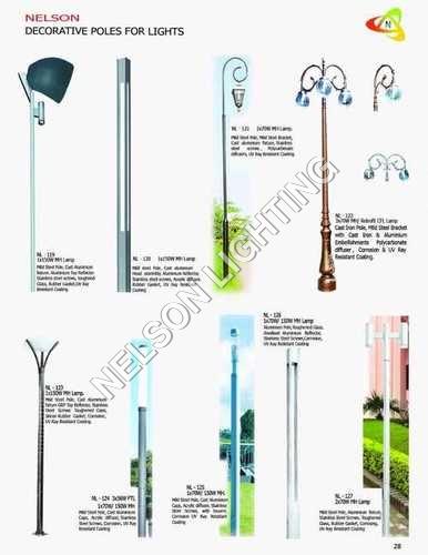 Decorative Poles For Lights