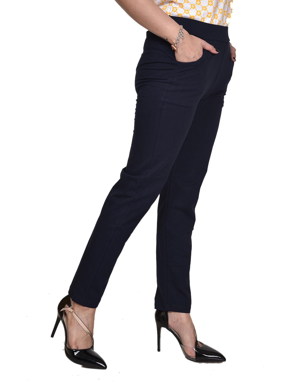 High Caliber Cotton Trouser Pants
