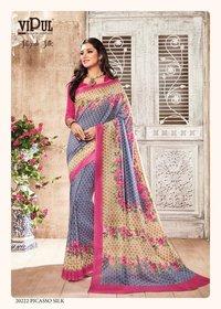 Indian Designer Cotton Silk Sarees