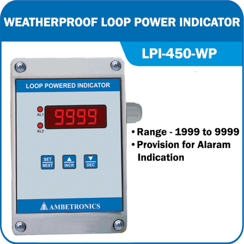 Weatherproof Loop Power Indicator (LPI-450 WP)
