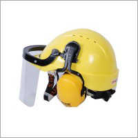 Safety helmet with attachable face shield