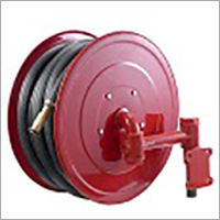 Fire hose reel with Nozzle
