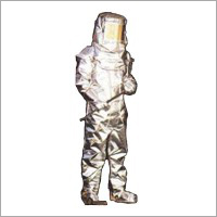 Alumininised two layered fire proximity suit