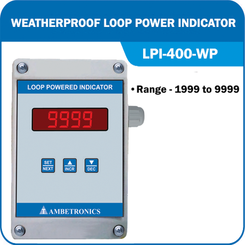 Weatherproof Loop Power Indicator (LPI-400 WP)