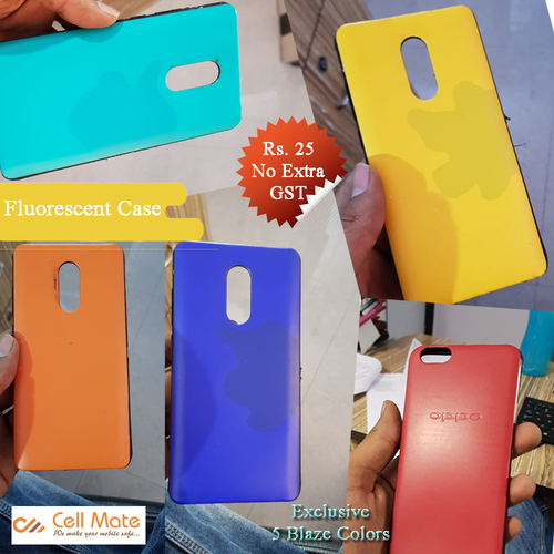 Fluorescent Soft Protective Back Case
