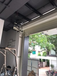 Motorized Operated Rolling Shutter