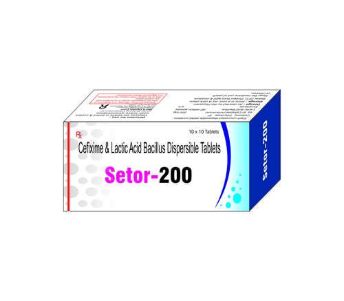 Cefixime & Latic Acid Bacillus Dispersible tablets