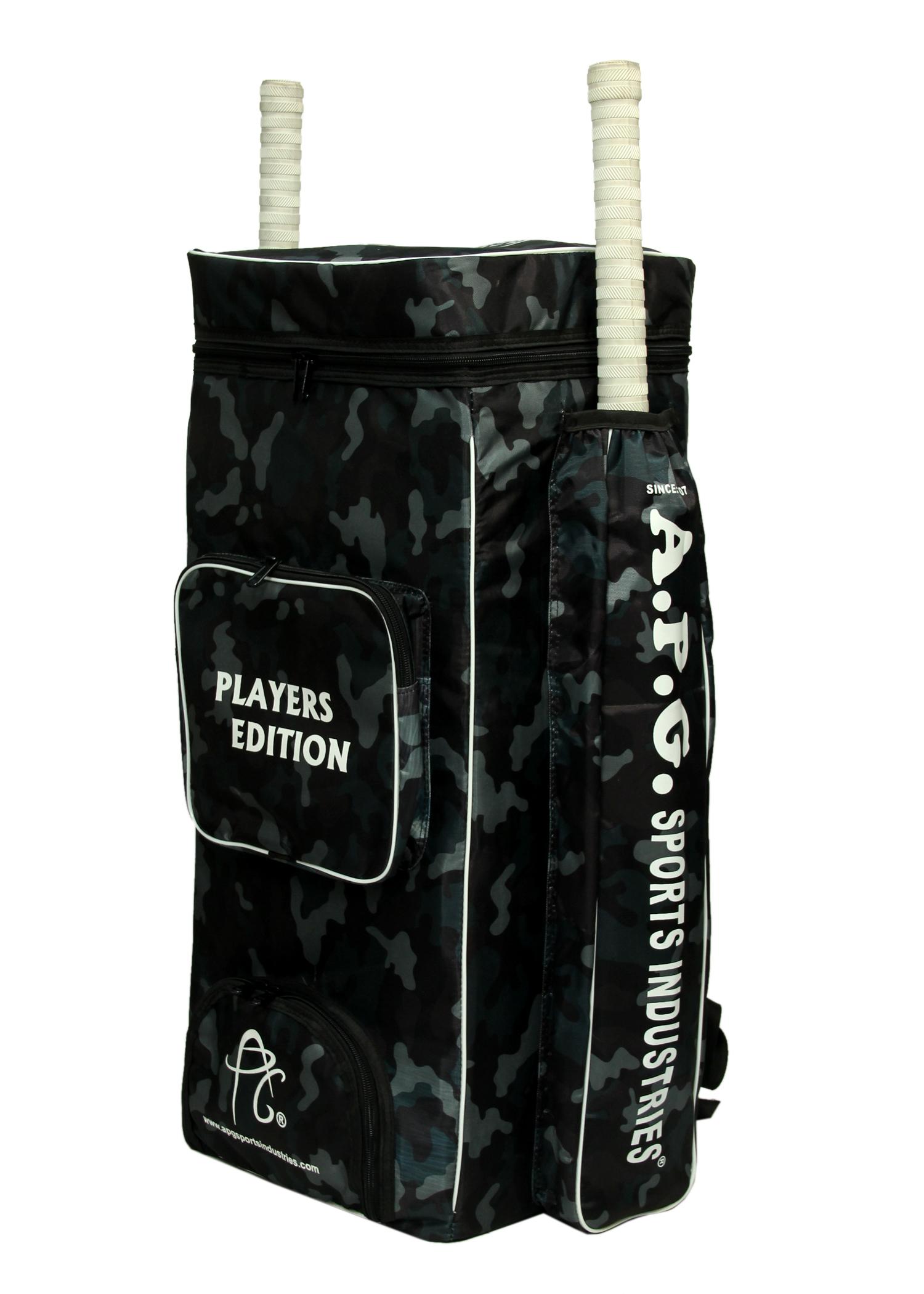 APG Cricket Kit Bag Camouflage Backpack