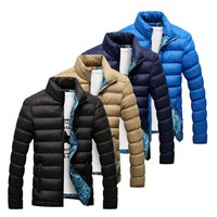 Dg Men Polar Fleece Filled Quilted Jacket