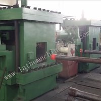 Upsetter for Upset Forging of Oil Extraction Pipe