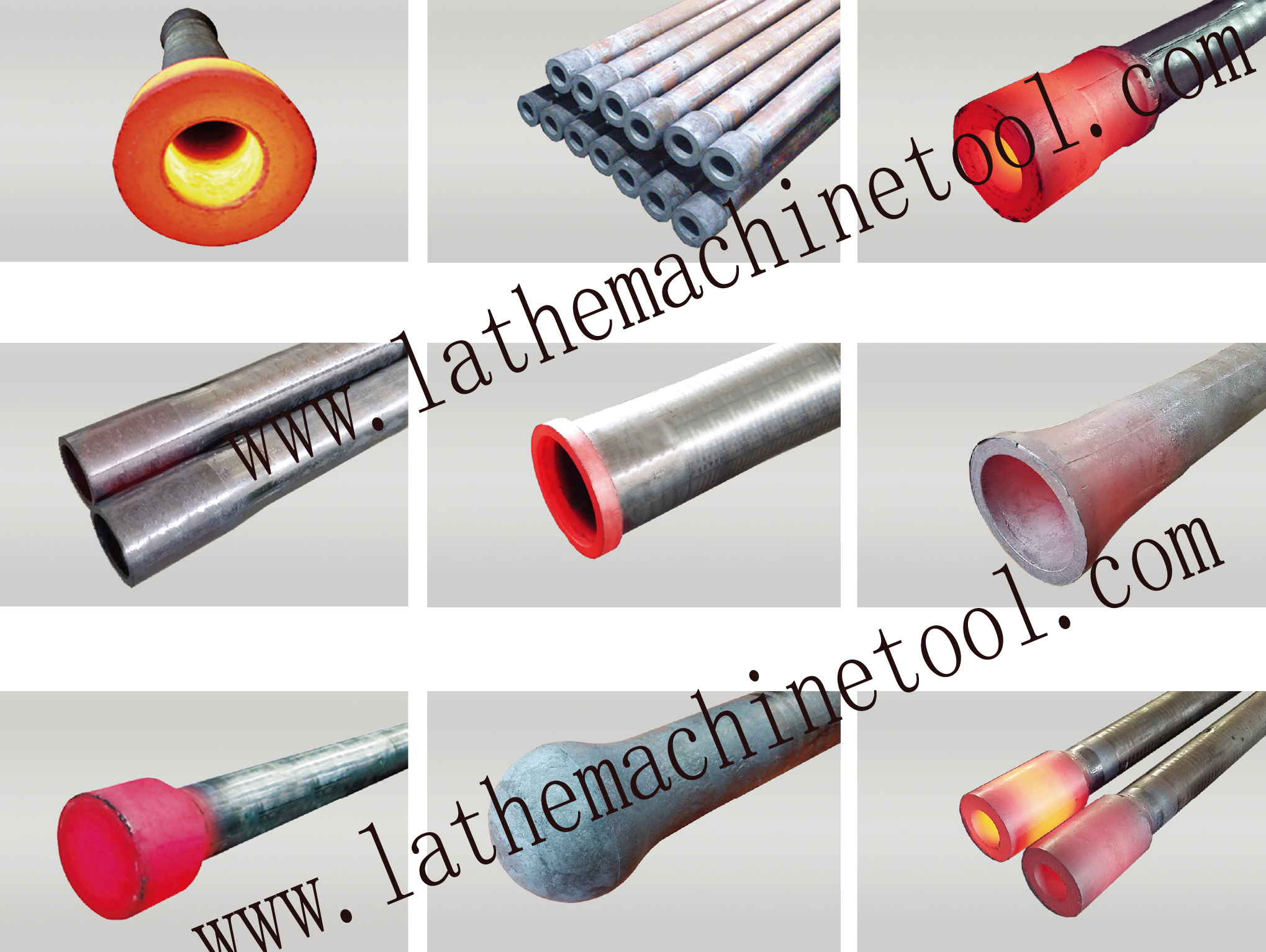Machine for Drill Collars for Upset Forging of Oil Tubing