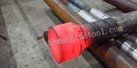 Pipe End Upset Machine for Upset Forging of Strong Sucker Rods