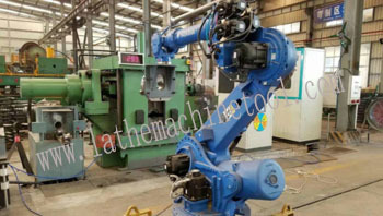 Drill Rod End Forging Machine For Upset Forging