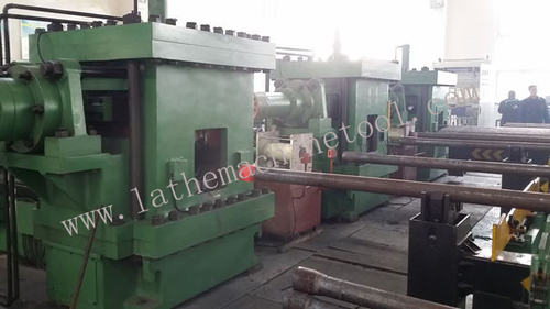 Tube Upsetting Device For Upset Forging Of Drill Pipe