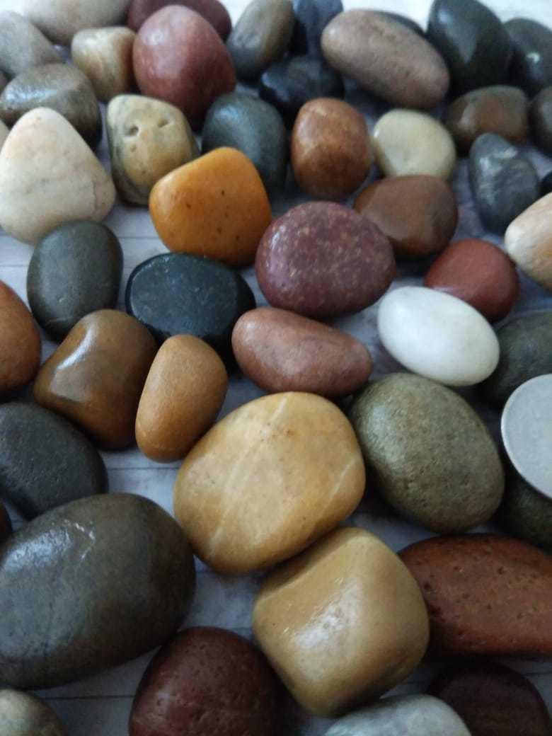 Natural Brown River Pebble