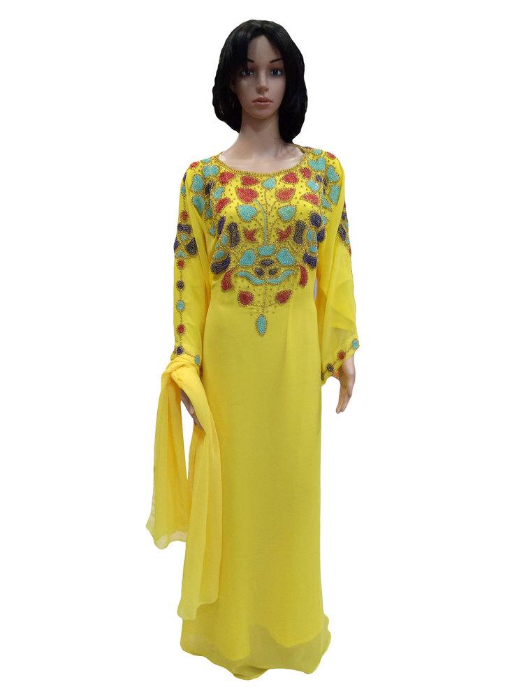 New Design Ladies kaftan full length