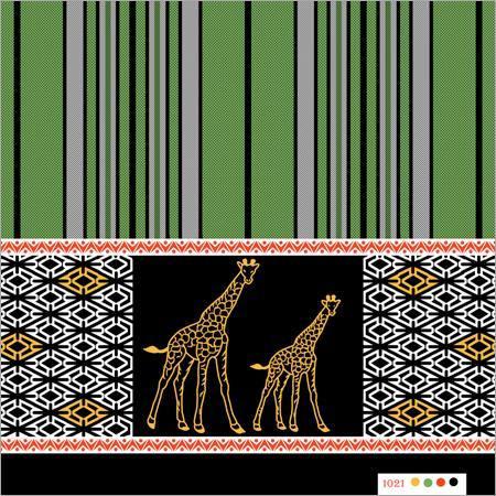 Polyester animal katari lungi