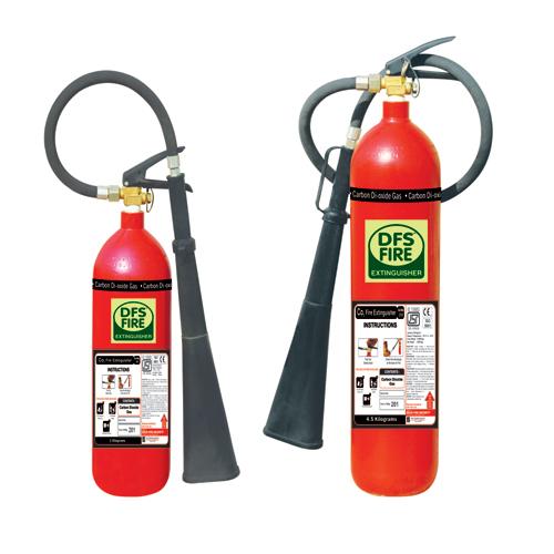 Portable carbon dioxide Fire Extinguisher