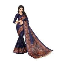 Designer Kalamkari Silk Saree