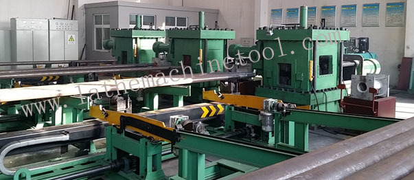 Drill Pipe Upsetter Equipment Based on Pipe Forming Press for Drill Pipe