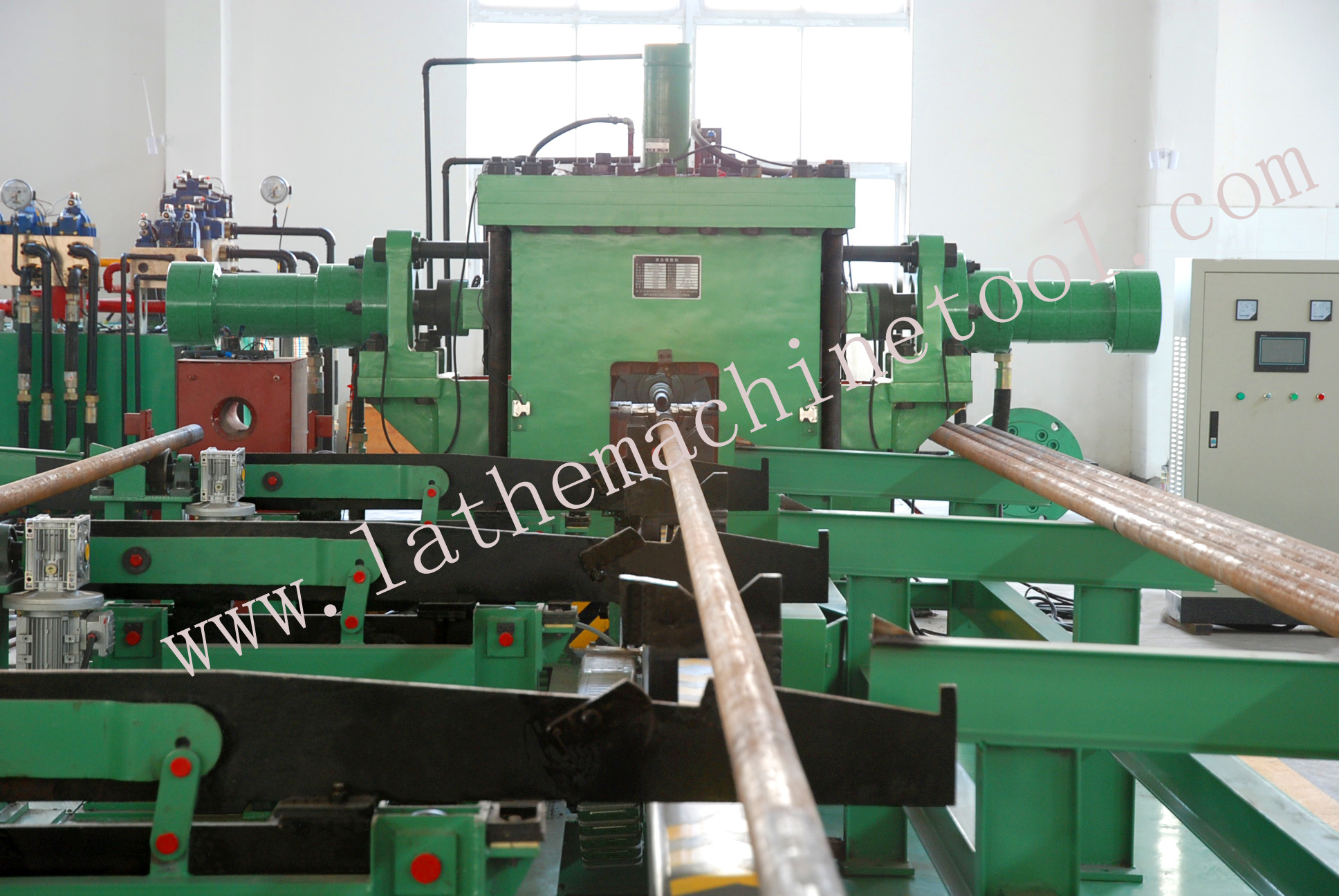 Tubular Upsetting Press Based on Pipe Upsetting Press for Oil Extraction Pipe
