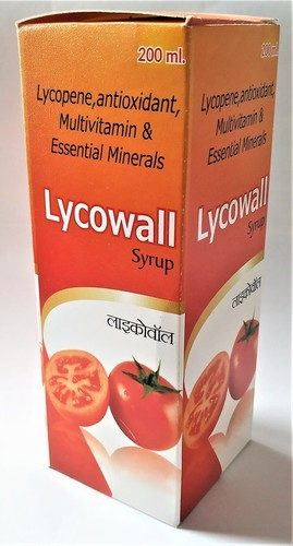 Multivitamin Syrup with Lycopene