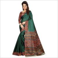 Kalamkari Silk Printed Sarees