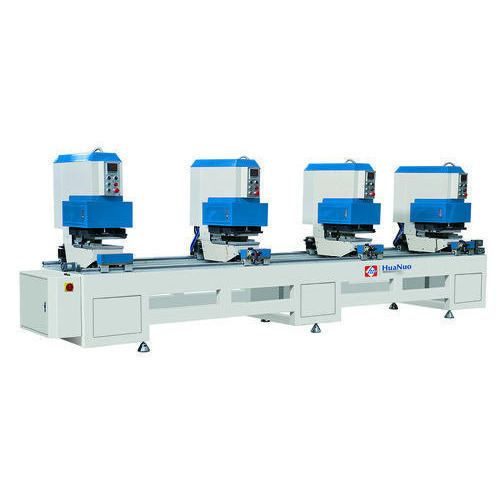 Four head seamless welding machine
