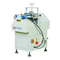 V cutting saw machine